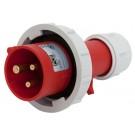01392-7 IP67 20A PLUG 2P3W 480V 7h RED