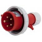 02592-7 IP67 30A PLUG 4P5W 277/480V 7h RED