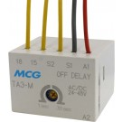 MINI FRONT MTD ELECT. TIMER OFF DELAY 0.1-30SEC 24/48V AC/DC