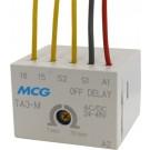 MINI FRONT MTD ELECT. TIMER OFF DELAY 0.1-30SEC 100-220V AC